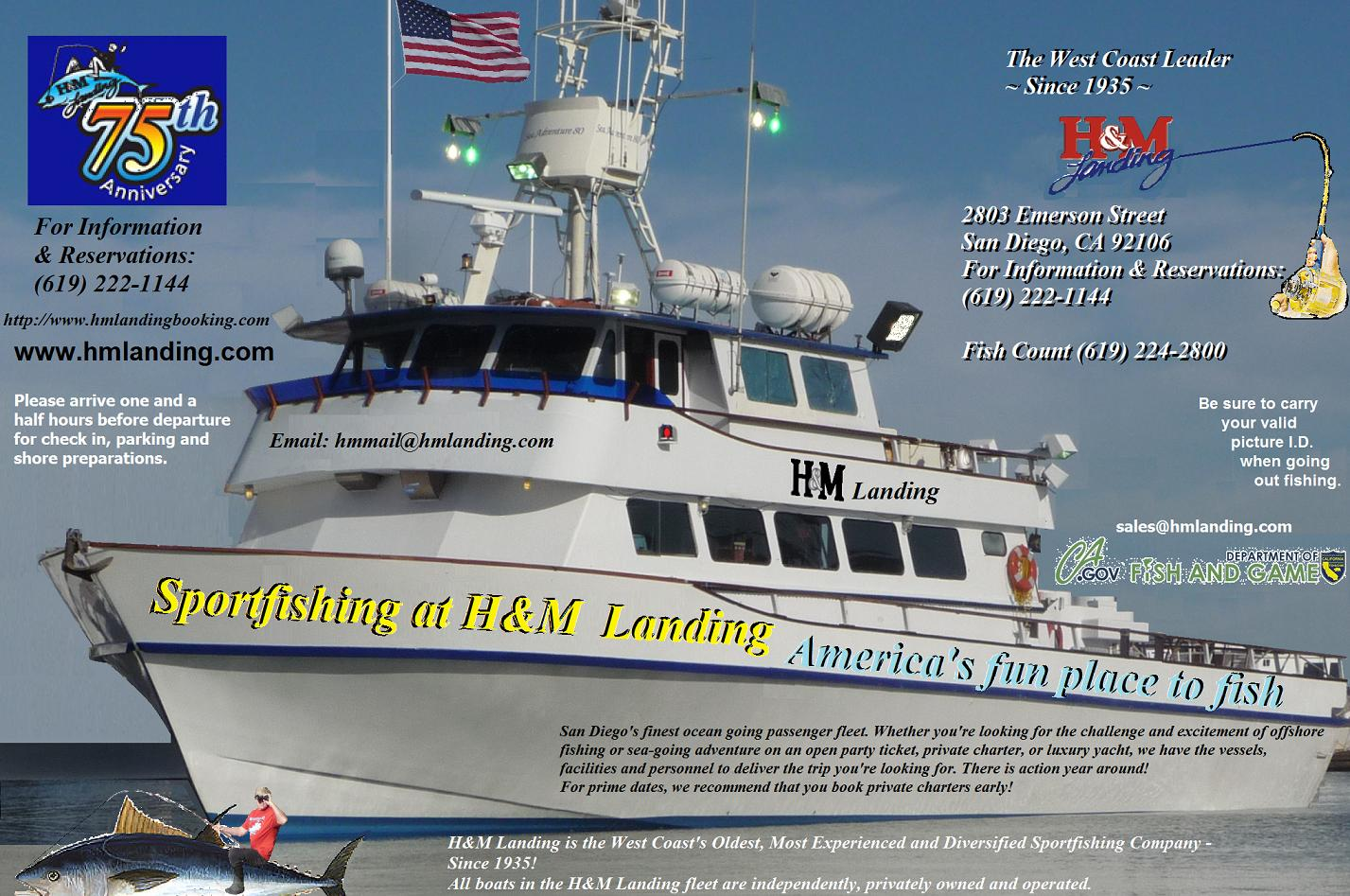 hm landing review by captain scott mcdaniels sea adventure