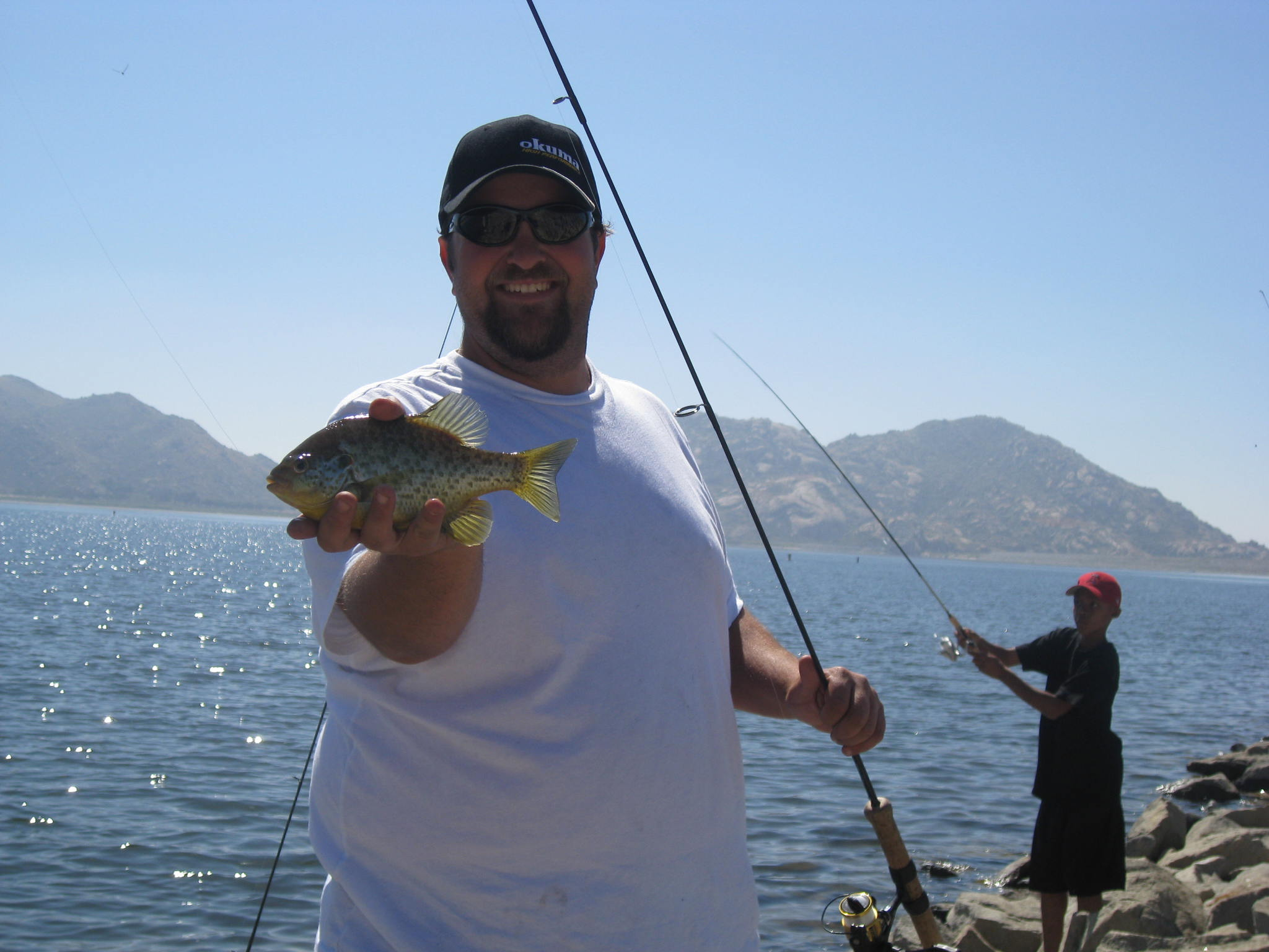Marlon meade on sportfihing saturday at 9 am on am 570 for Lake cachuma fishing report