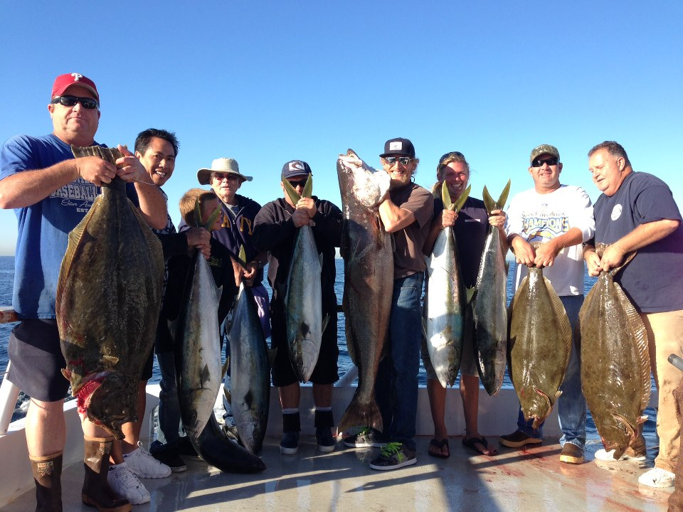 Seaforth sportfishing new seaforth am half day 976 tuna for Seaforth landing fish report