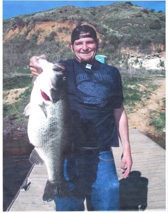 Nick sepulveda monster 14 4 florida strain largemouth bass for Hesperia lake fishing report