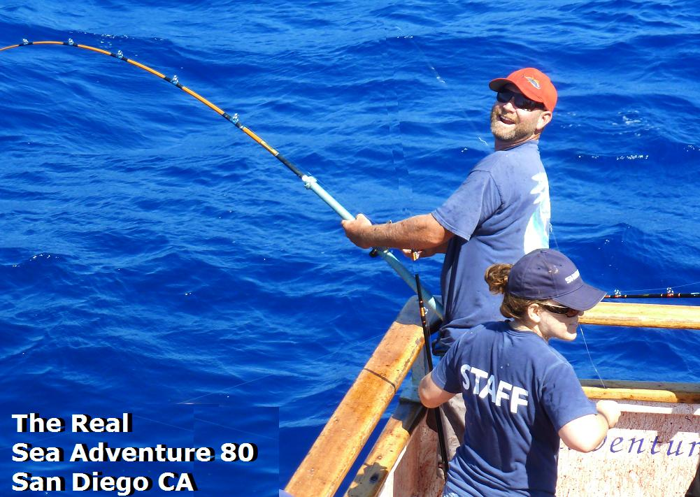 Real sea adventure 80 wide open full speed fishing 976 for H m landing fishing report