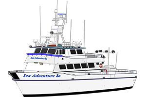 Sea Adventure 80 Sportfishing
